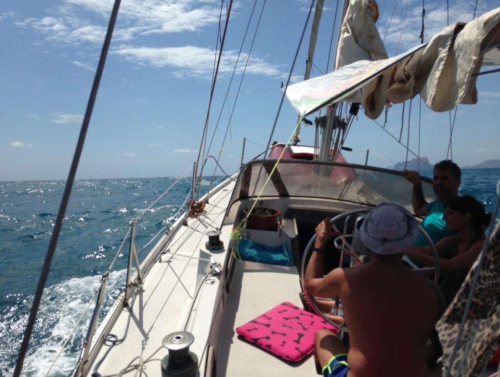 Navegacion Burriana Javea Mar Menor